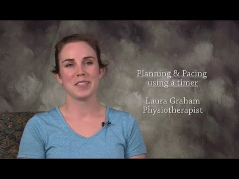 Concussion/mTBI Planning and Pacing Activity: Using a timer