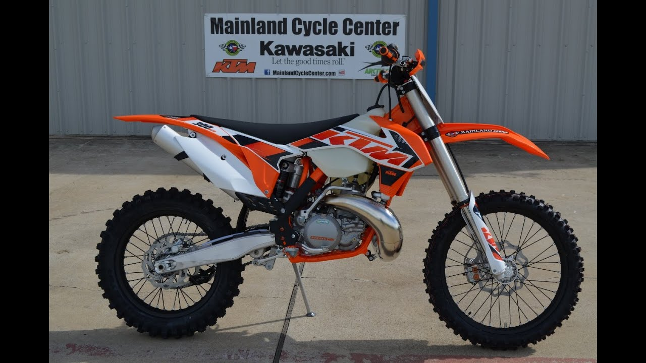 $7,399: 2015 ktm 300 xc 2 stroke overview and review - youtube
