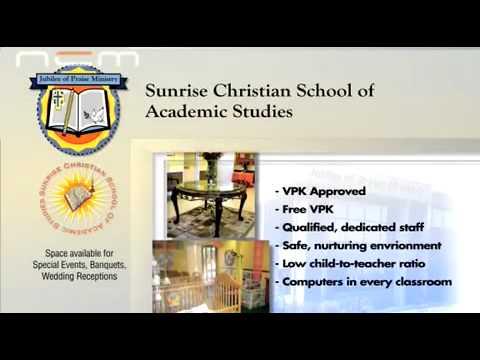 Sunrise Christian School of Academic Studies Sunrise