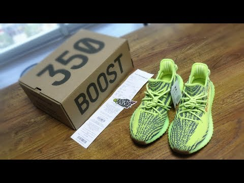36a5ec71586 YEEZY 350 V2 FROZEN YELLOW (LN5)Version Review - YouTube