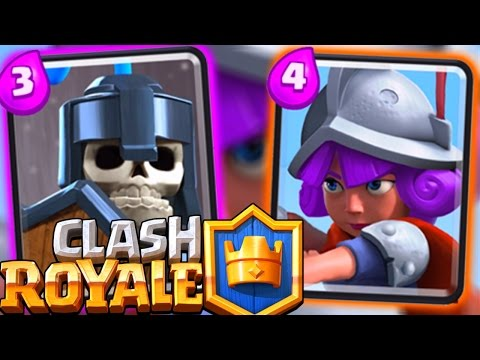 Clash Royale - Fast Guards + Musky Deck!