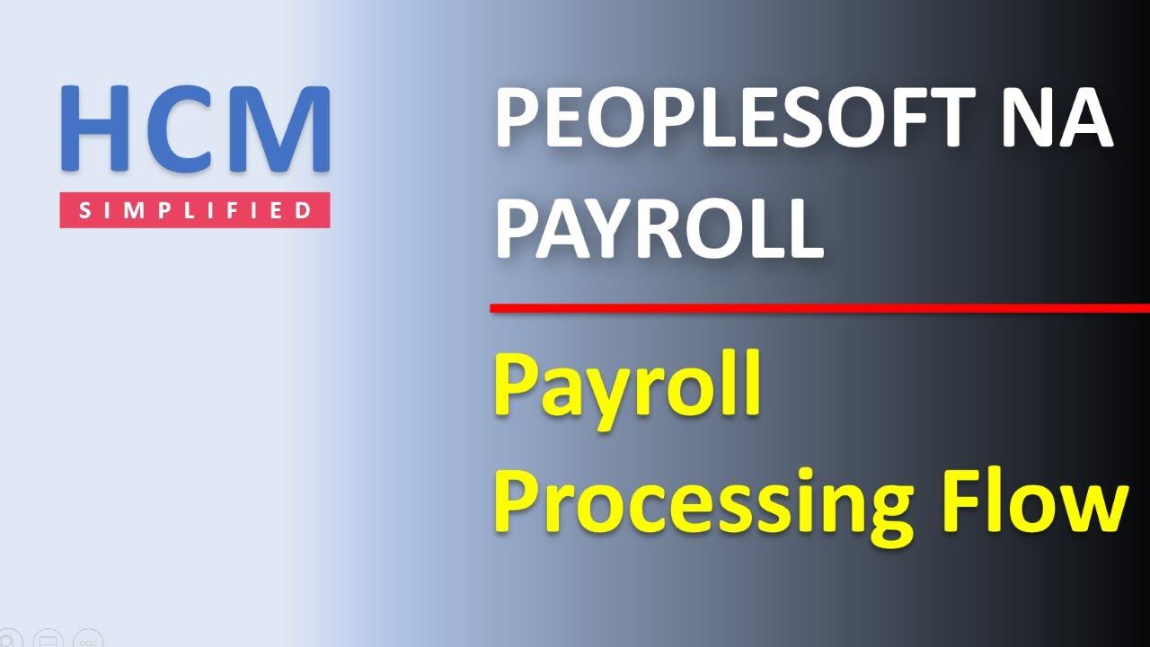Payroll Processing Flow