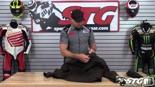 Dainese Street Rider Leather Jacket Review from Sportbiketrackgear.com