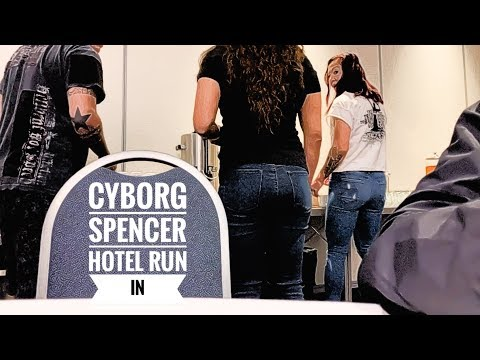 Cris Cyborg has Hotel Run in with Felicia Spencer ahead of UFC 240 Edmonton Canada