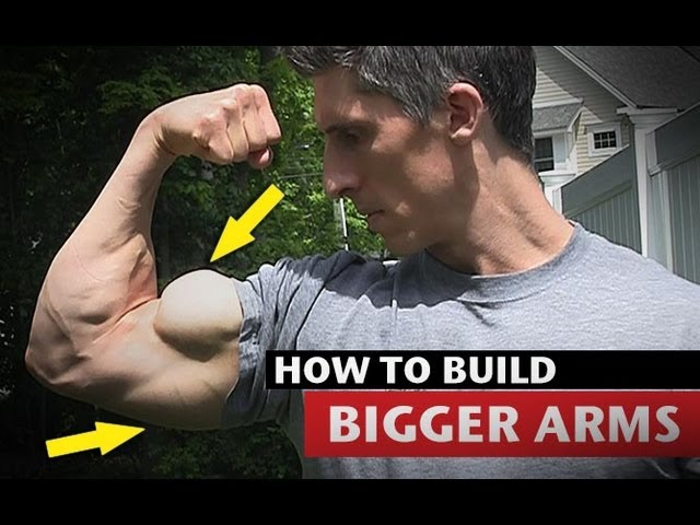 How to Get BIG ARMS Much Faster!