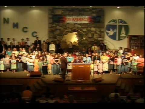 New Manna Youth Choir - Mercy Said No (Youth Rally 2009)