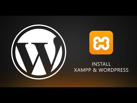 Wordpress install on xampp localhost Server