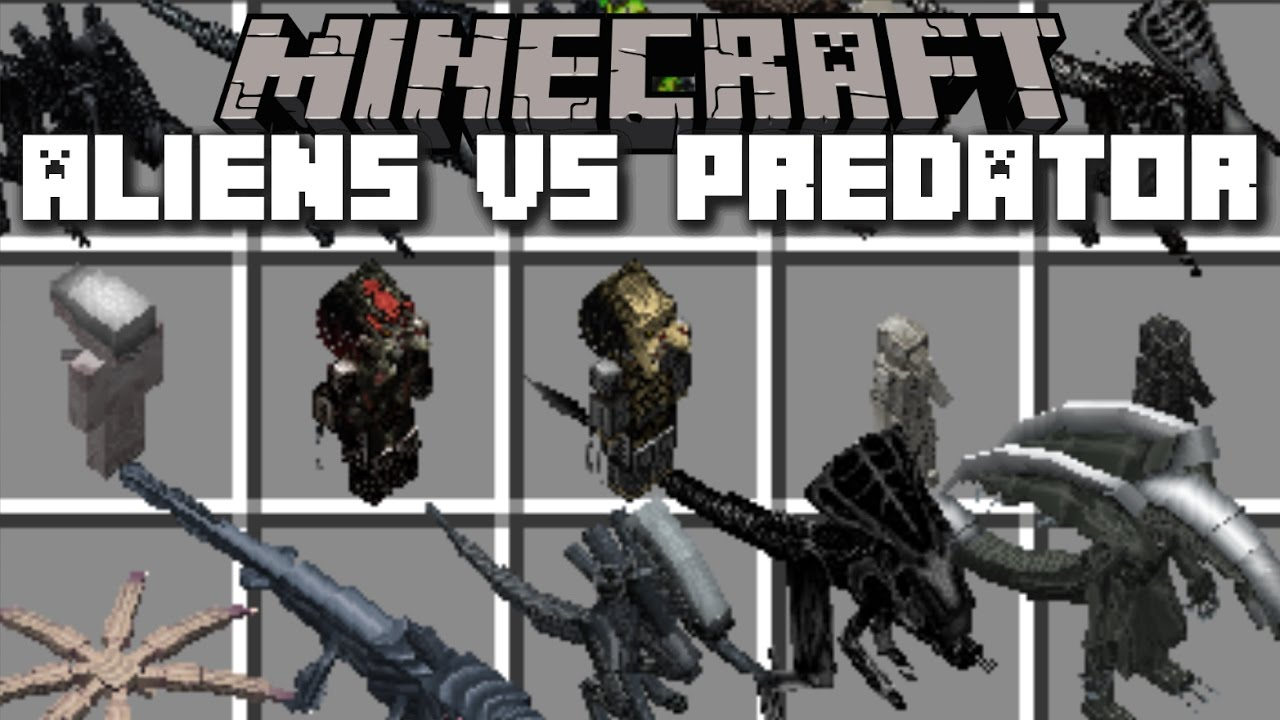 Download alien vs predator mod minecraft