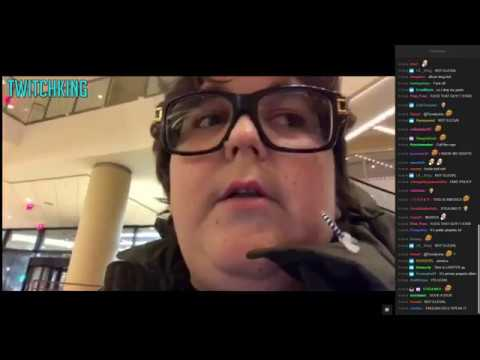 Mall Cops Threatens to Confiscate Andy Milonakis Camera Live on Twitch