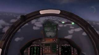 UFO interception in Microsoft Flight Simulator X