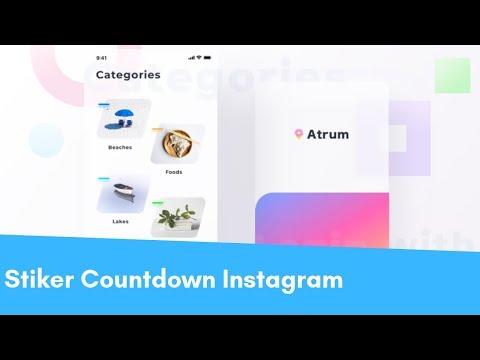 Cara Menggunakan Stiker Countdown Hitung Mundur Instagram