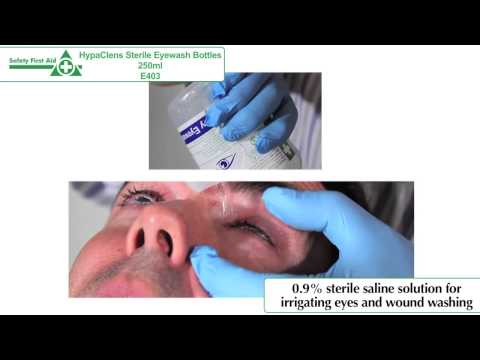 HypaClens Sterile Eyewash Bottles E403 / E404