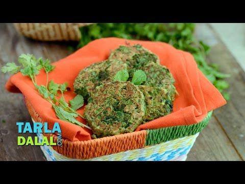 Sprouts Tikki by Tarla Dalal