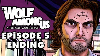 The Wolf Among Us - Episode 5: Cry Wolf, Part 4: Ending! (PC Gameplay Walkthrough)