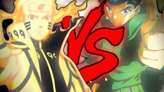 Naruto vs. yusuke | batalha de rap feat. airon