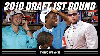 Dez Almost a Patriot, Trade Up for Tebow, & More! | 2010 NFL Draft 1st Round