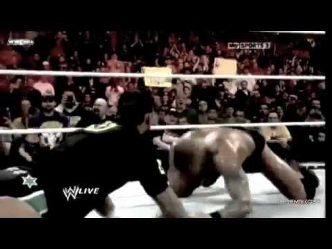 Randy Orton destroys Nexus of CM Punk