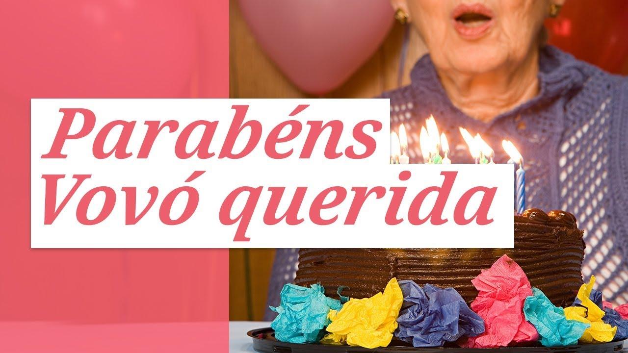 Feliz Aniversário Vovó Feliz: Parabéns Para Minha Querida Vovó