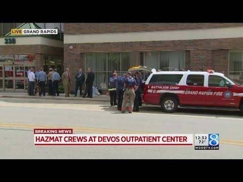 Helen DeVos Children's Hospital outpatient center cleared after hazmat response