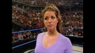 Stephanie McMahon slaps her mother