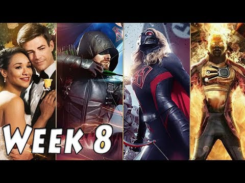 Top 25 'Crisis on Earth X' Moments - Best Arrowverse Moments of the Week | Week 8