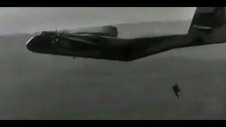 1968 Tercer Campeonato Mundial Paracaidismo Militar celebrado en Reus (Tarragona) caribou aircraft