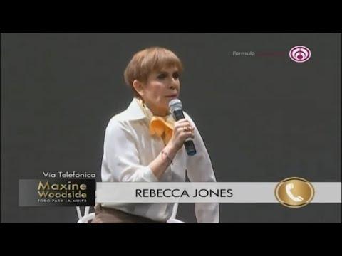 """""""Estoy perfectamente bien"""": Rebecca Jones niega tener cáncer de útero"""