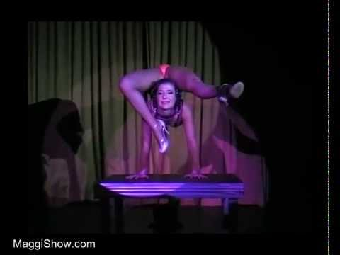 Extreme Contortion Act - Contortionist Magdalena Stoilova - www.MaggiShow.com