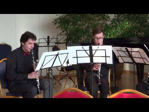 R.Shtruk - Toccata / Clarinet Quartet - Belarusian State Academy of Music
