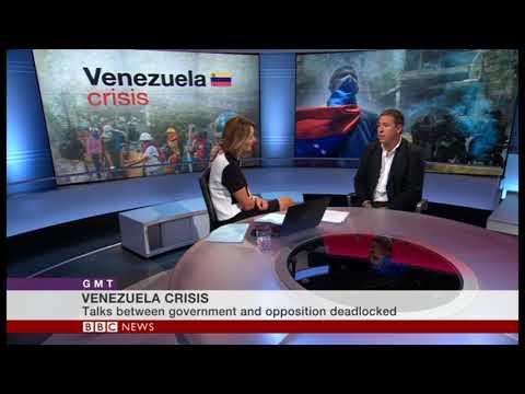 Alborada's Pablo Navarrete Discusses Venezuela/Colombia (BBC World TV/Thursday 28 September 2017)