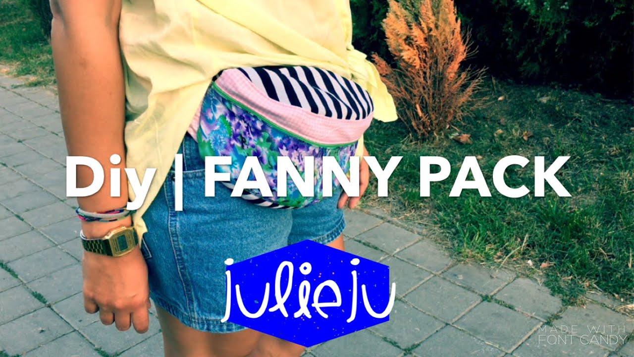 Diy Tutorial Fanny Pack Bum Bag Waist Purse