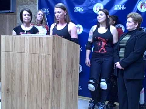 Texas Rollergirls and City of Austin Strike Partnership