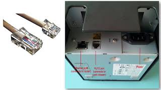 Setting Up your Cash Drawer for the Epson TM-T88V and PC | Vend U