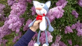 Кот Филипп крючком - Самое интересное.Обзор.Вяжем игрушку.(Amigurumi Crochet cat)