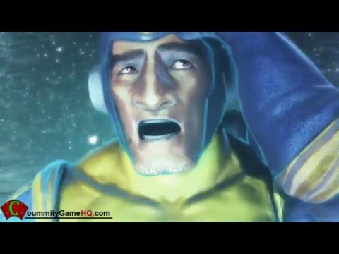 Street Fighter X Tekken - Mega Man And Pac-Man All Prologues Rivals And Endings Full Story HD