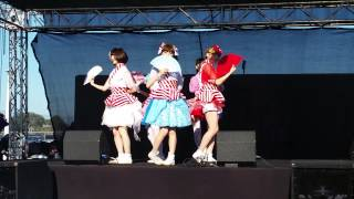 むすびズム Musubizm at the Orange County Japan Fair on 082915.