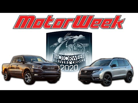 2020 MotorWeek Drivers' Choice Award Winners: Trucks & Utilities