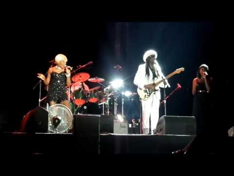 CHIC ft. NILE RODGERS - Get Lucky - Chic Cheer (28.06.2016) 23rd Istanbul Jazz Festival