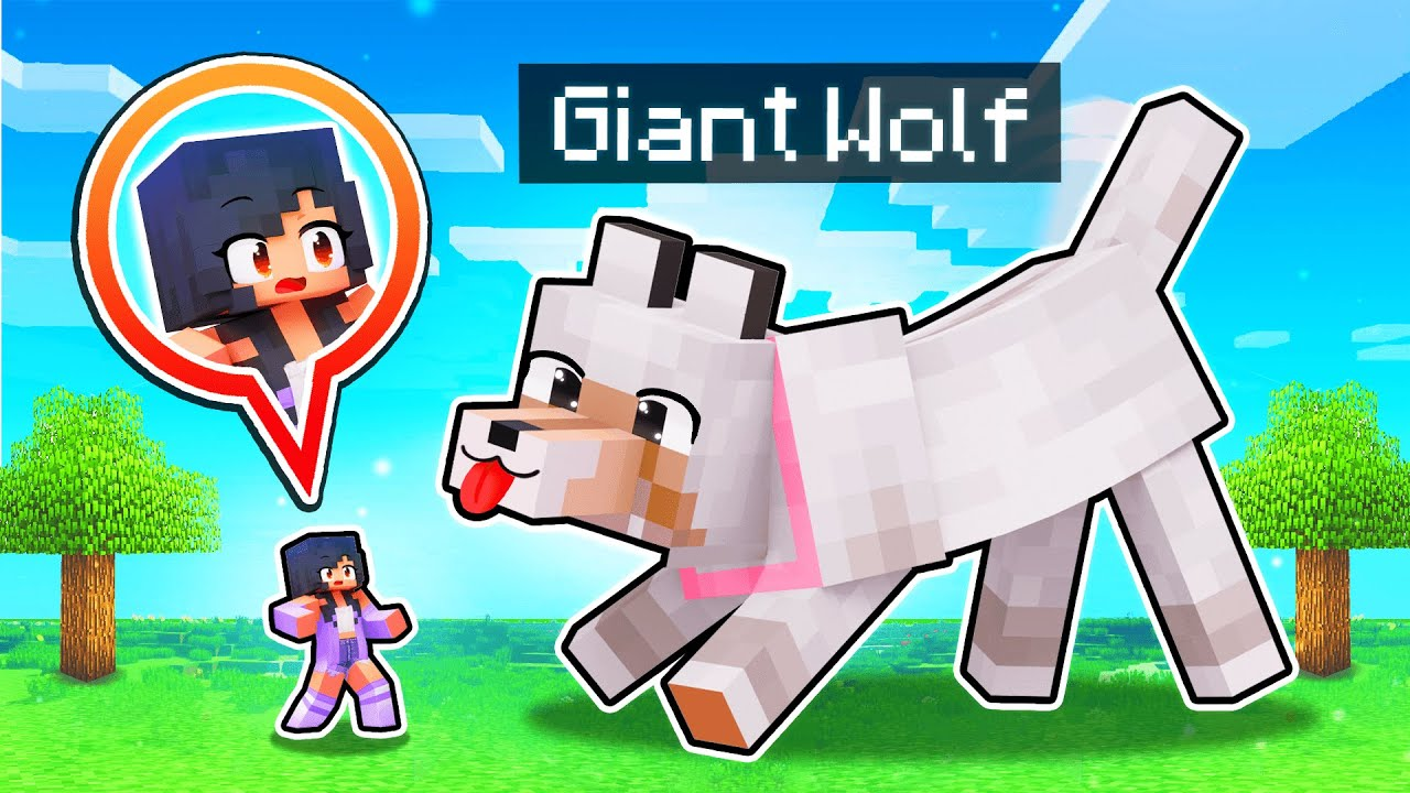 Playing With GIANT ANIMALS In Minecraft!