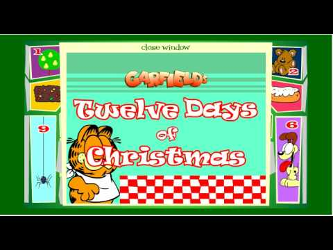 Garfields 12 Days of Christmas  All 12 Days!