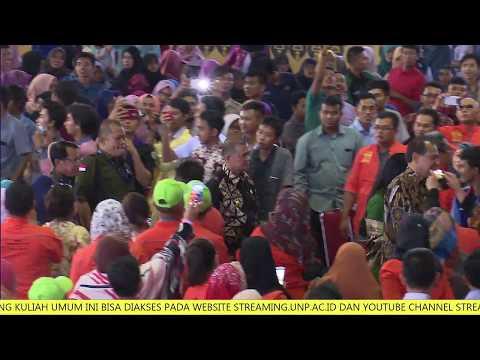 Kuliah Umum Bpk. Chairul Tanjung (CT) di Universitas Negeri Padang