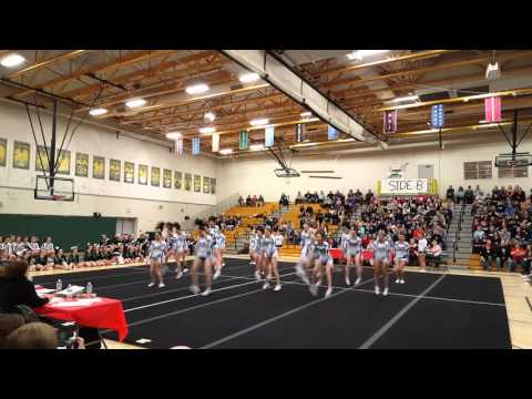 1/9/16 Lewiston at the Kora Shrine Cheer Classic