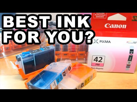 Canon Pro 100 Ink Options OEM 3rd Party Or Refill?