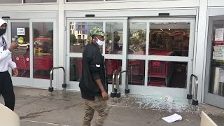 Raw Video: Looters Raid Target Store Near Mpls. Protest
