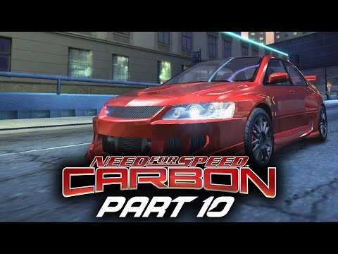 Need for Speed Carbon Gameplay Walkthrough Part 10 - SKYLINE R34 & EVO