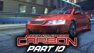 Need for Speed Carbon Gameplay Walkthrough Part 10 - SKYLINE R34 & EVO