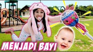 TANTANGAN 24 JAM JADI BAYI Part 1 | CnX Adventurers