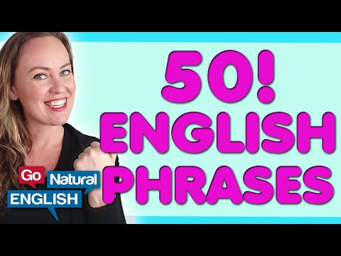 50 Natural Common Phrases in American English