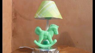 Dollhouse Miniature Nursery Lamp