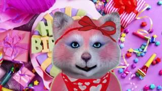 Поздравить с днем рождения прикольное красивое. Видео открытки.